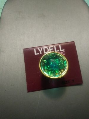 New Lydell NYC green ring /size 7 for Sale in Yonkers, NY