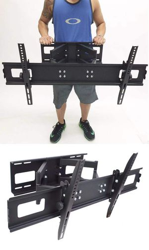 New in box 40 to 85 inches swivel full motion tv television wall mount bracket 110 lbs capacity with hardwares included for Sale in Norwalk, CA