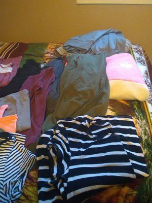 M/L/XL --T-shirts, jackets, hoodies, pants , sweats, dresses, cardigans for Sale in Denver, CO
