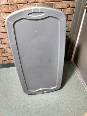 Extra large plastic storage bin 50 gallon for Sale in Alexandria, VA