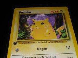 Pokemon pikachu first edition ( german?) for Sale in Turlock, CA