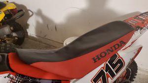 Honda crf150-230 Seat cover for Sale in Dacula, GA