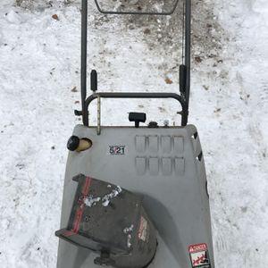 "Craftsman 5HP 21"" Snowthrower for Sale in Farmington, CT"
