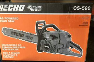 Echo CS-590 TimberWolf Chainsaw for Sale in Portland, OR