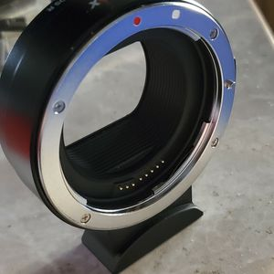 New Canon camera adapter EF TO RF R6 R5 RP R for Sale in Stockton, CA