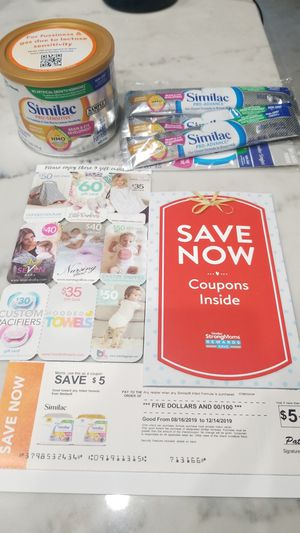 Similac formula and over $20 in coupons for Sale in Queen Creek, AZ