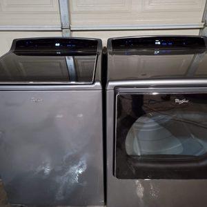 Whirlpool Cabrio Washer And Gas Dryer for Sale in San Bernardino, CA