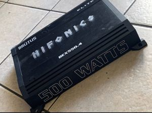 Hifonics amp for Sale in La Habra Heights, CA
