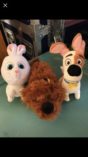 Plushies from movie imaginary friend for Sale in Henderson, NV