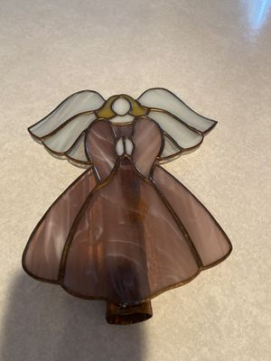Stained Glass Angel Tree Topper for Sale in Vancouver, WA