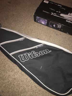 Wilson tennis rackets and bag for Sale in Atlanta, GA