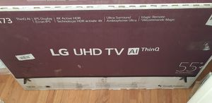 LG 55 INCH 4K UHD 7 SERIES 2019 MODEL for Sale in Garden City, MI