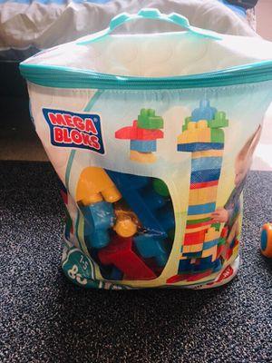 FisherPrice Mega block set kids game for Sale in Alpharetta, GA