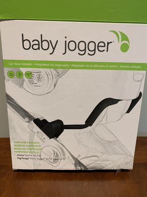 Baby Jogger adapter for Chicco and Peg Perego car seat for Sale in Gainesville, FL