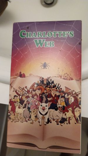 Charlotte's Web vhs for Sale in Doral, FL