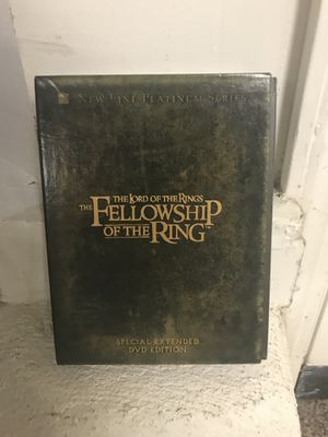 Lord of the Rings Box DVD Set part 1&2! for Sale in San Francisco, CA