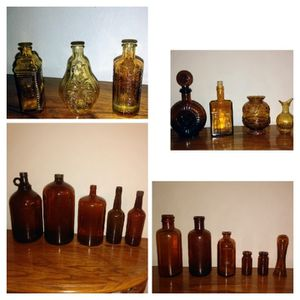 Amber Glass Bottles for Sale in St. Louis, MO