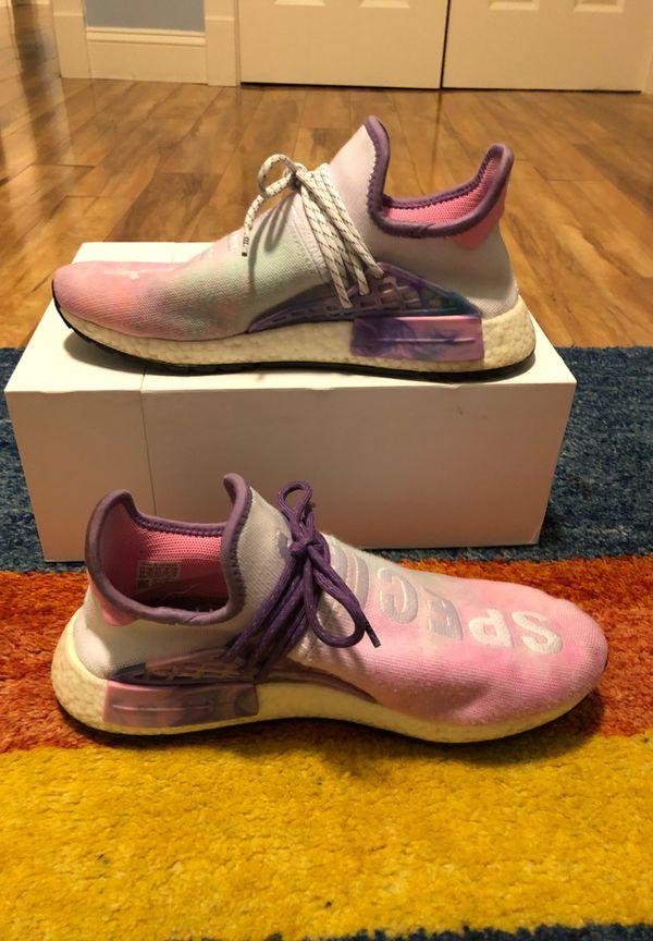 Adidas Human Race NMD Pharrell Holi Festival Pink Glow