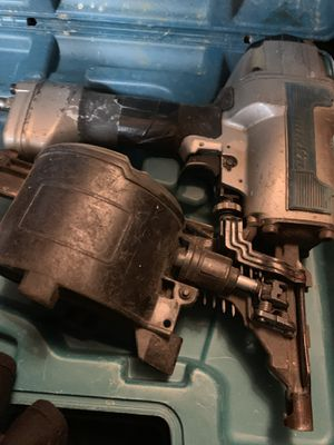Makita Compressed Air Nail Gun Hammer AN611 for Sale in Seattle, WA