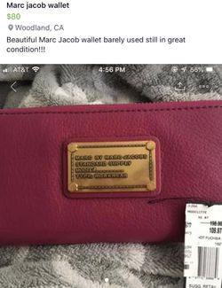 Marc by Marc Jacobs wallet for Sale in Woodland,  CA