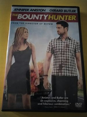 The Bounty Hunter DVD Movie with Jennifer Aniston n Gerard Butler for Sale in Chicago, IL