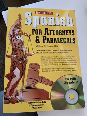 Spanish for Attorneys & Paralegals for Sale in Lubbock, TX