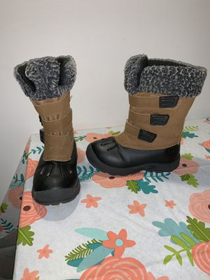 Heavy duty toddler snow/rain boots for Sale in Bethesda, MD