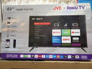 """49"""" LED SMART TV AVAILABLE BY JVC WITH ROKU STREAMING. ENDLESS ENTERTAINMENT for Sale in Los Angeles, CA"""