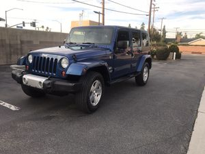 2009 jeep wrangler unlimited sahara 4x4 for Sale in Buena Park, CA