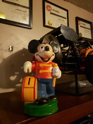 Mickey Mouse Vintage Piggy Bank for Sale in Sanford, FL