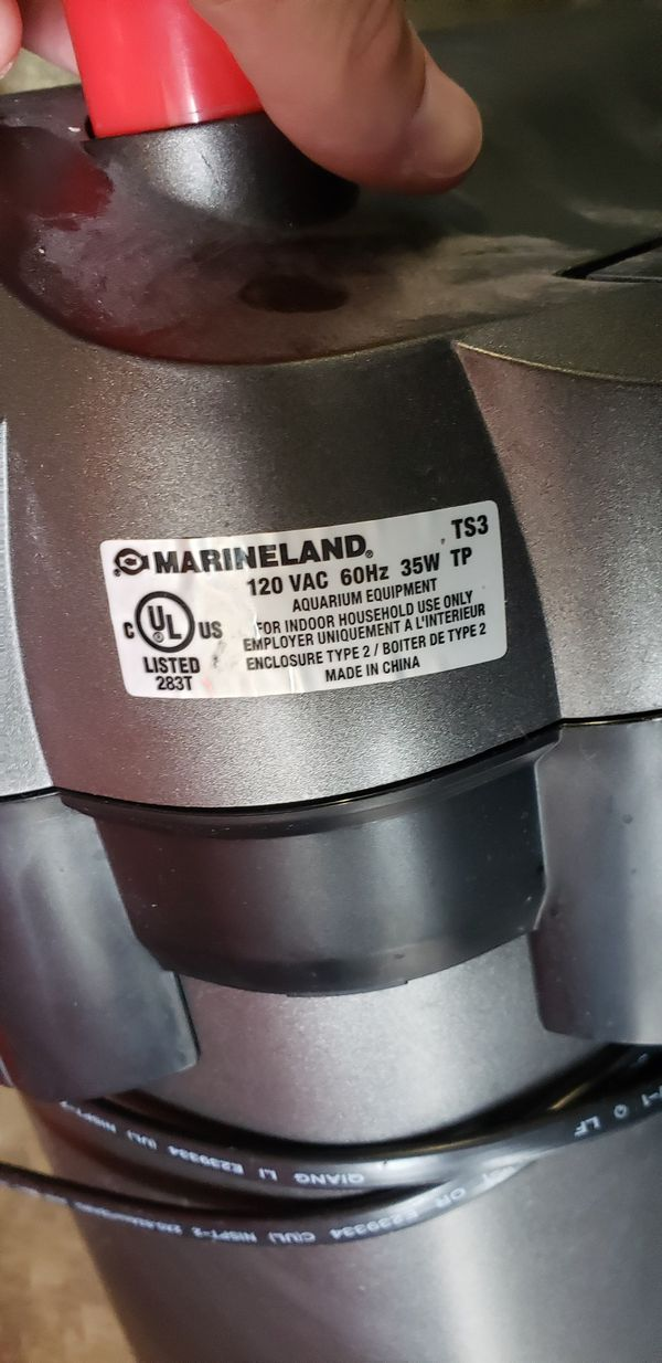 (NEED GONE TODAY‼️) Marineland 4g Canister Aquarium Filter‼️