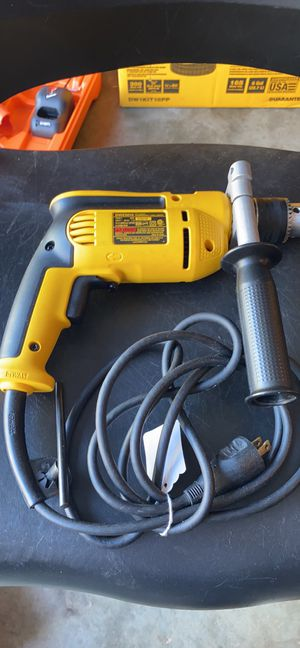 DEWALT 7.8 Amp 1/2 in. 0-600 RPM Variable Speed Reversing Drill with Keyless Chuck for Sale in Raleigh, NC