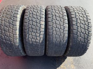 (4) 285/70R17 Nitto Terra Grappler A/T G2 - $425 for Sale in Santa Ana, CA