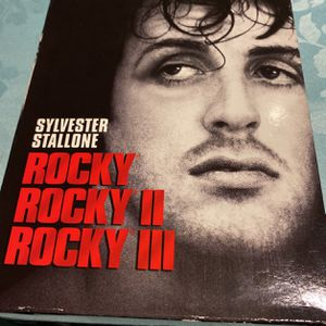 ROCKY TRIPLE PACK (DVD, 2006) Rocky/Rocky II/Rocky III New/sealed Mint Condition for Sale in Miami, FL
