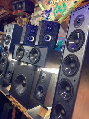 7.1 home theater surround speaker system for Sale in Federal Way, WA