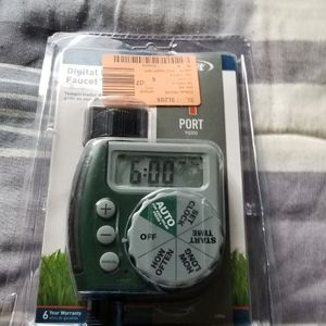 Orbit Sprinkler Timer New. Instructions Included for Sale in Carson, CA