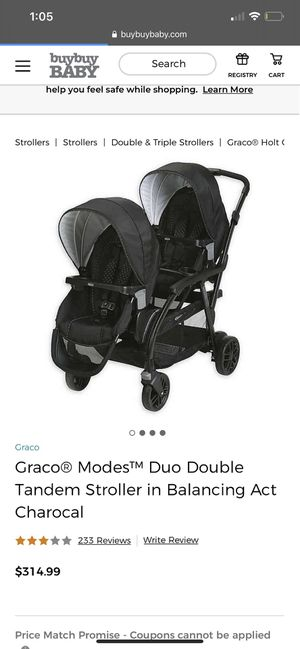 Graco double stroller for Sale in Chandler, AZ