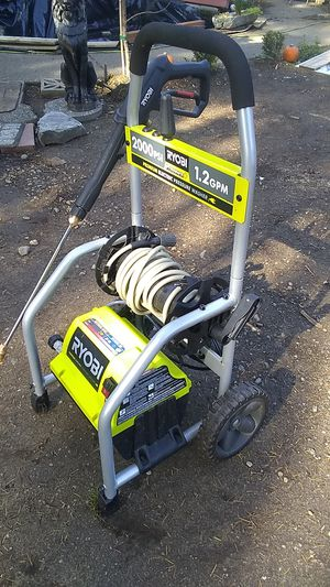Pressure washer, Ryobi for Sale in Wauna, WA