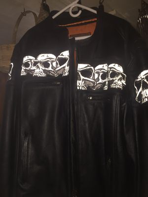 REDUCED Leather Jacket for Sale in West Union, WV