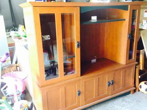 Mission Style Shelving/Storage Unit for Sale in Chicago, IL