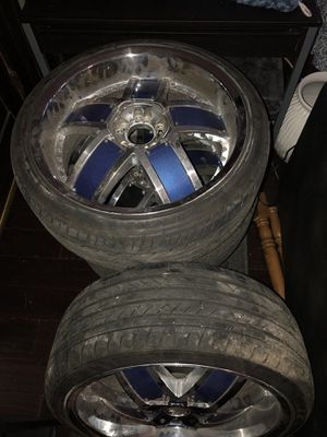 20in VCT Lombardi Rims and tires for Sale in Columbus, OH
