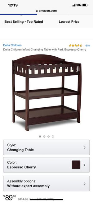 Changing table for Sale in North Las Vegas, NV