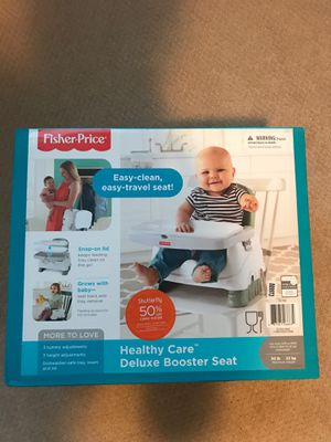 Fisher price deluxe booster seat for Sale in Mill Creek, WA