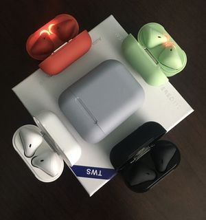 Wireless EarBuds Bluetooth Ear Pods Headphones for Iphone Android Samsung (Airpods) for Sale in Orlando, FL