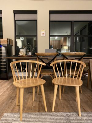 Spindle Windsor Back Arm Chairs (set of two) for Sale in Fairfax, VA