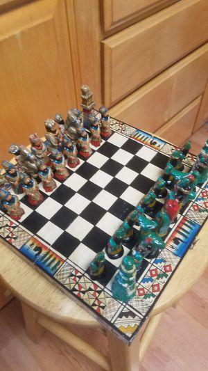 Aztec / Peru Chess for Sale in Stockton, CA