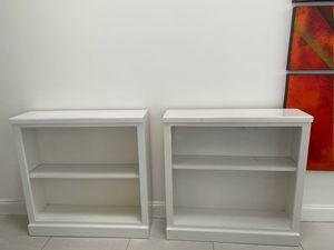 Solid wood bookshelves for Sale in Fort Lauderdale, FL