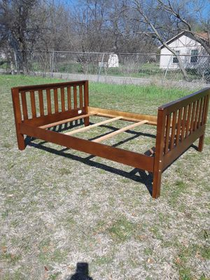 Full Size Bed Frame 80. for Sale in Princeton, TX