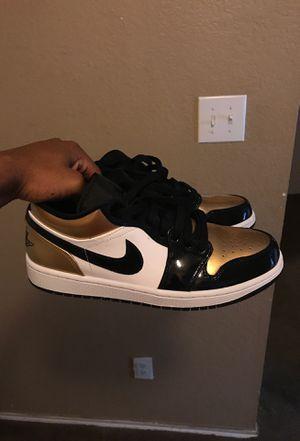 Air Jordan 1 low gold toe for Sale in Humble, TX