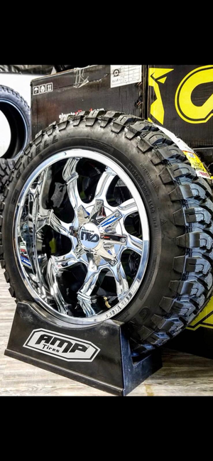 20 x 12 WHEELS AND TIRES for Sale in Phoenix, AZ